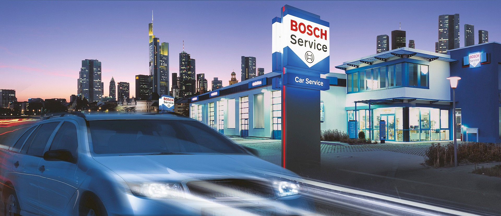 Bosch Car Service Johnson, Impressum